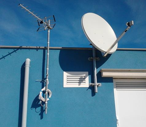Installazione antenne paraboliche