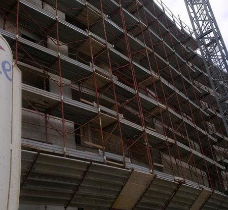 LAvoro civile abitazione bisceglie cantiere impianti elettrici bisceglie